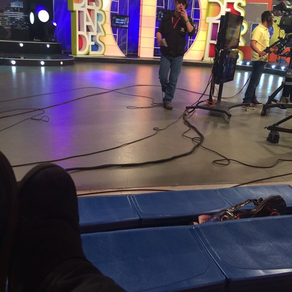 Photo taken at Multimedios Televisión by Myrna G. on 3/19/2014
