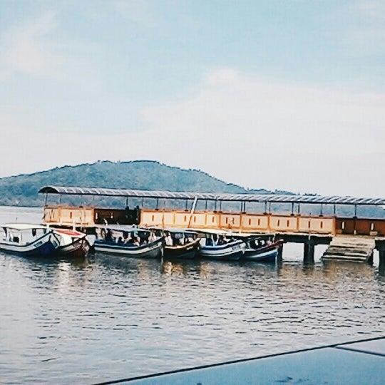 Photo taken at Tanjung Dawai by Syifaaelias on 5/28/2016