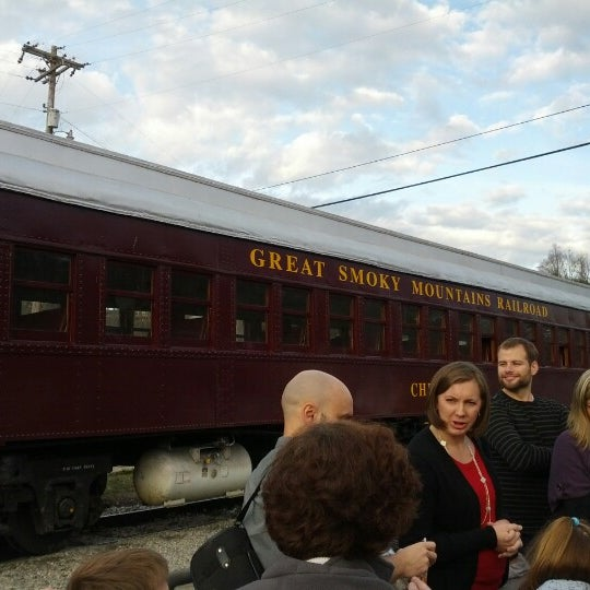 Photo taken at Great Smoky Mountain Railroad by Christian R. on 12/15/2012