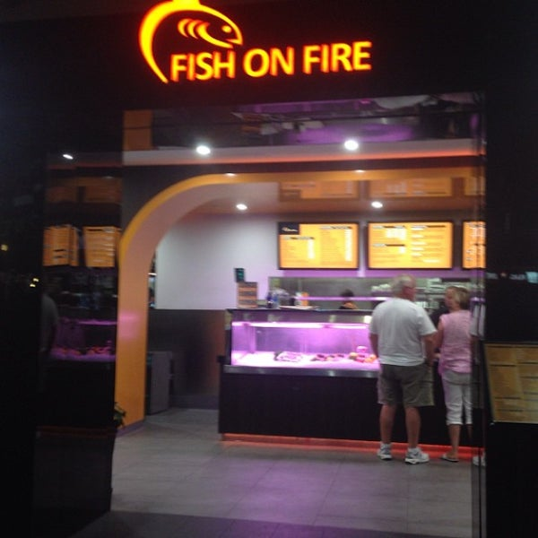 Fish on fire 90 middle st for Fish on fire