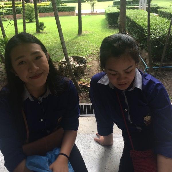 Photo taken at Chiang Mai Rajabhat University by Eye P. on 8/10/2016