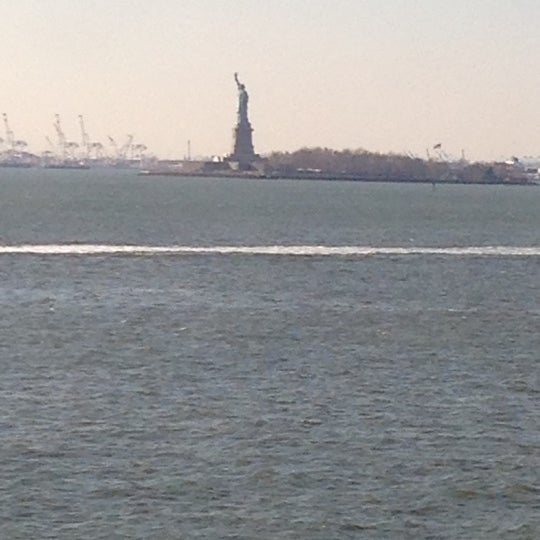 Photo taken at Staten Island Ferry Boat - Guy V. Molinari by Christos T. on 11/26/2012