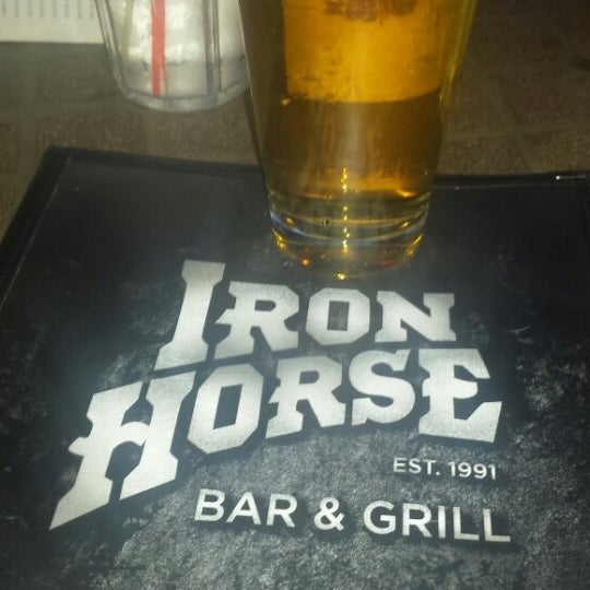 Photo taken at Iron Horse Brew Pub by Jim D. on 8/20/2014