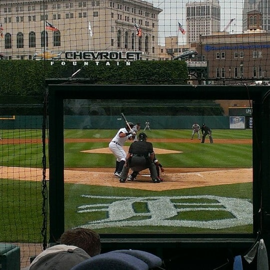 Photo taken at Comerica Park by Milli A. on 6/9/2013