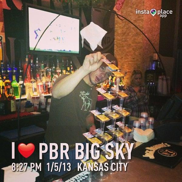 Photo taken at PBR Big Sky by DJ Soap on 1/6/2013