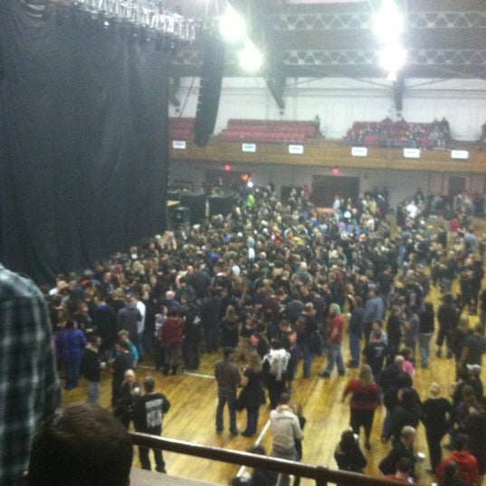Photo taken at Main Street Armory by Gary B. on 10/16/2012