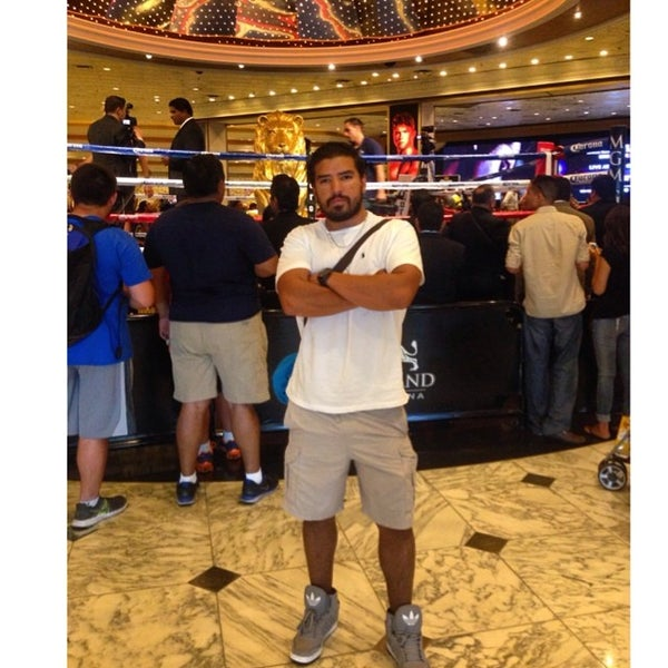 Photo taken at MGM Grand Hotel & Casino by Anto R. on 7/8/2014