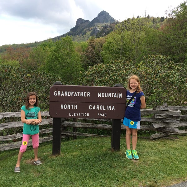 Photo taken at Grandfather Mountain by Ann Y. on 5/16/2015