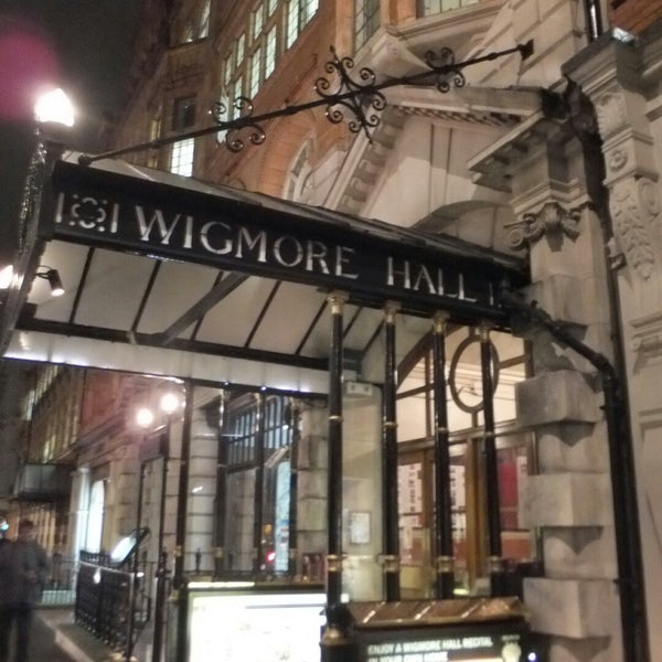 Photo taken at Wigmore Hall by k n. on 11/25/2014