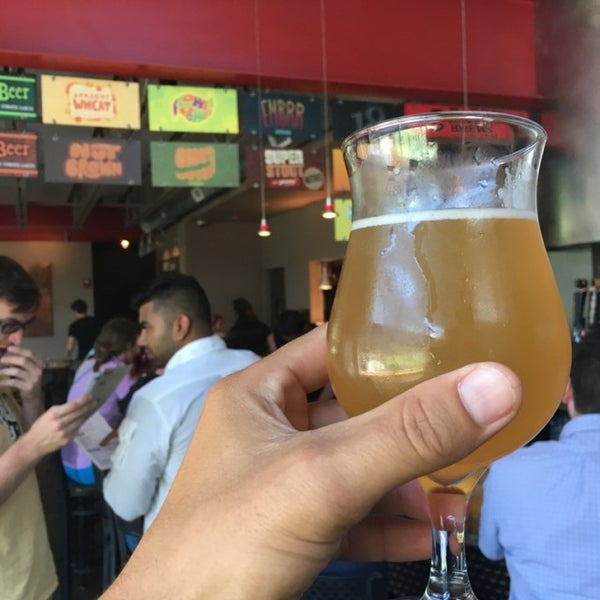 Photo taken at Ithaca Beer Co. Taproom by Brian T. on 7/23/2016