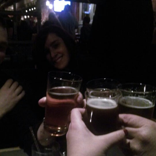 Photo taken at Bethlehem Brew Works by Aggie S. on 2/22/2014