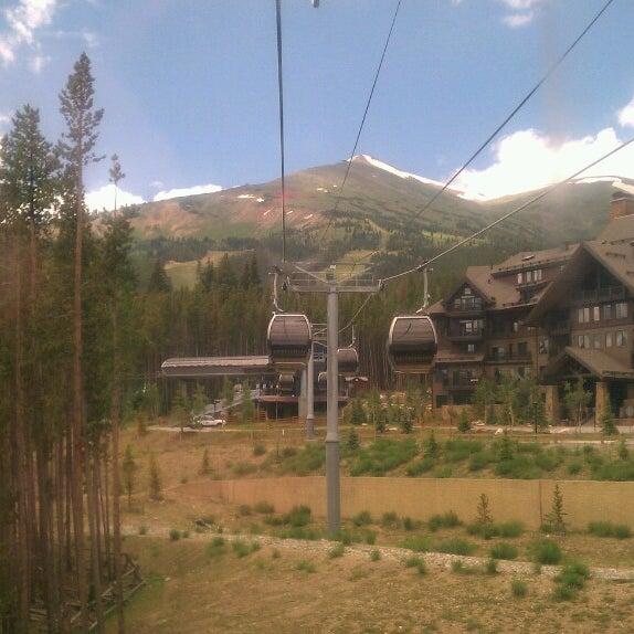 Photo taken at Breck Connect Gondola by kieran c. on 7/16/2013