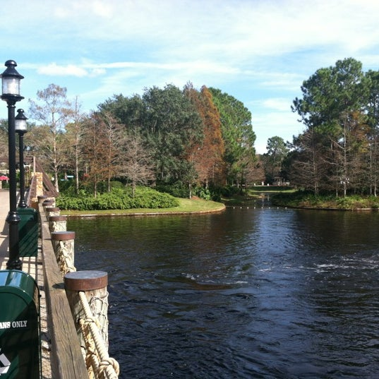 Photo taken at Disney's Port Orleans Riverside Resort by Mel R. on 12/17/2012