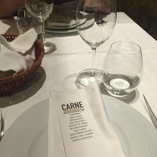 Photo taken at Restaurante - Casa Arouquesa by Vera on 8/19/2016