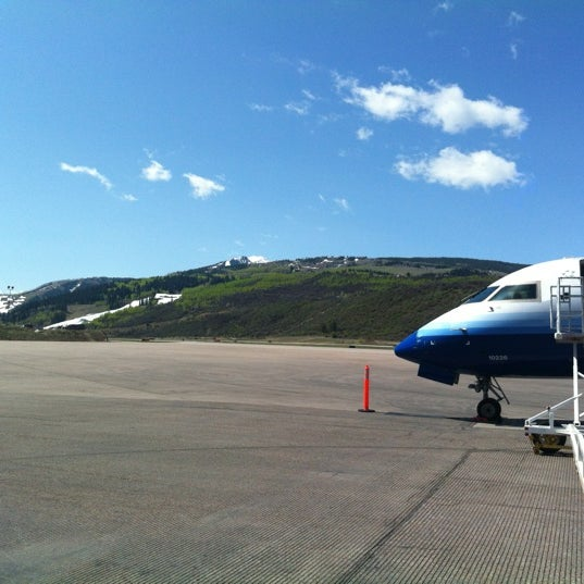 Photo taken at Aspen/Pitkin County Airport (ASE) by Rob M. on 4/28/2012