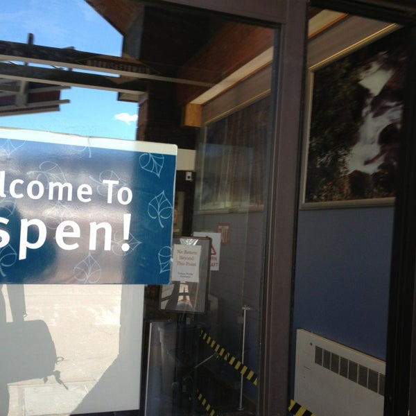 Photo taken at Aspen/Pitkin County Airport (ASE) by Ryan E. on 3/10/2013