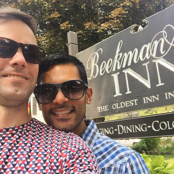 Photo taken at Beekman Arms-Delamater Inn by Suresh on 8/30/2015
