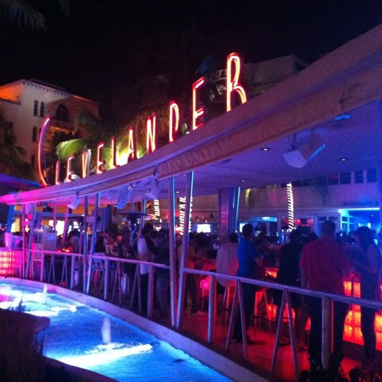 Photo taken at Clevelander by Andreas K. on 3/20/2013