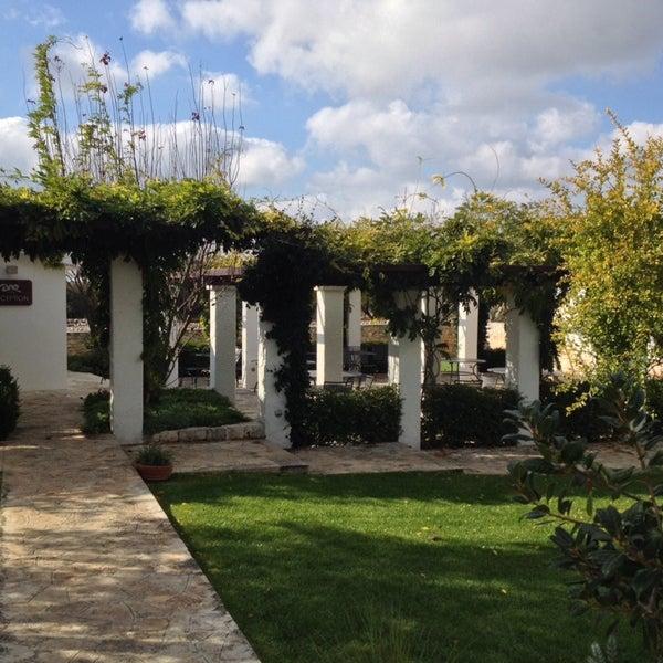Photo taken at Abate Masseria & Resort Noci by Giandomenico S. on 11/1/2014