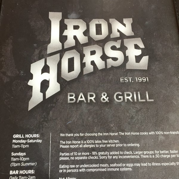 Photo taken at Iron Horse Brew Pub by Bull Dog C. on 5/10/2016