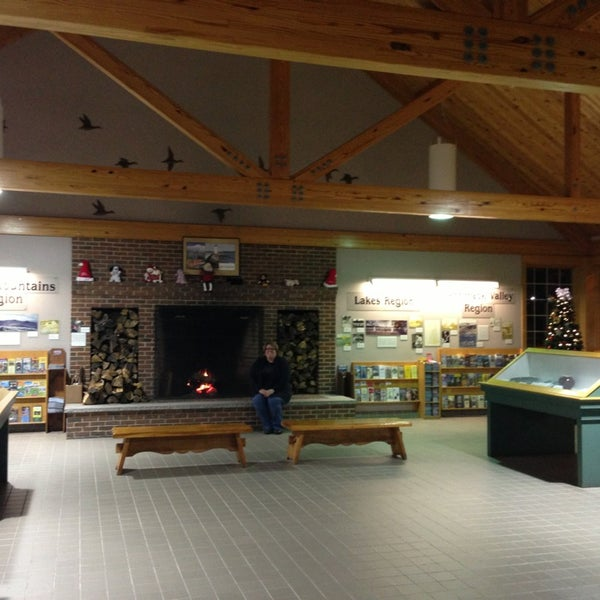 Photo taken at Seabrook Rest Area & Welcome Center by Jen C. on 12/21/2012