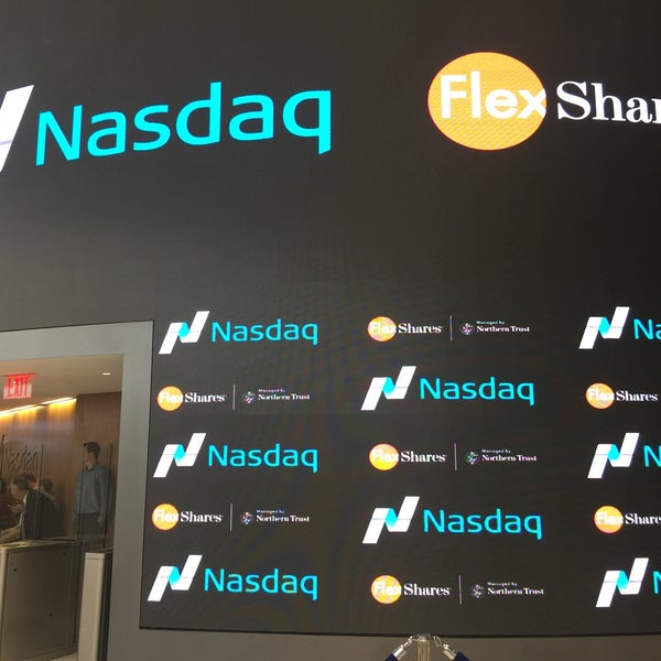 Photo taken at Nasdaq Marketsite by Momar V. on 9/28/2016
