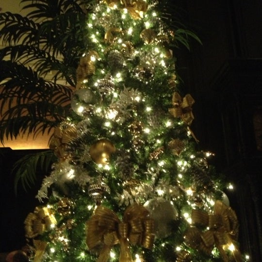 Photo taken at The Algonquin Hotel Times Square, Autograph Collection by Sara J. on 12/16/2012