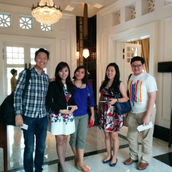 Photo taken at Menteng Hermitage Hotel by Stallone T. on 8/10/2014