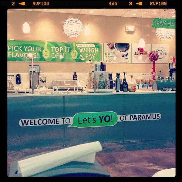 """Photo taken at Let's YO! Yogurt by """"MissyLen"""" on 3/24/2013"""