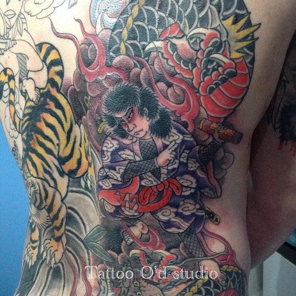 Photo taken at Tattoo O'd studio by Boho M. on 6/23/2015