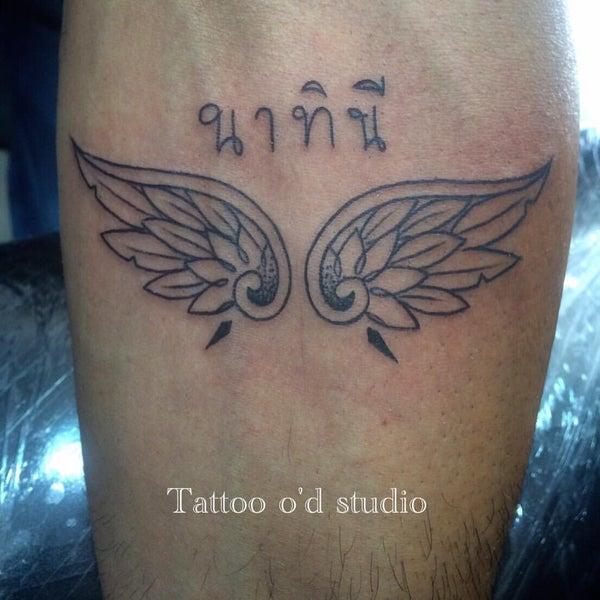 Photo taken at Tattoo O'd studio by Boho M. on 8/19/2016