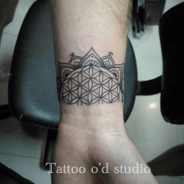 Photo taken at Tattoo O'd studio by Boho M. on 8/13/2016