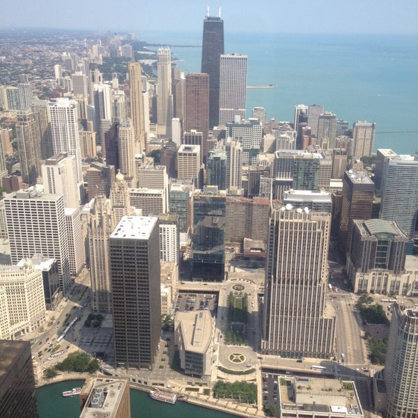 Photo taken at Aon Center by Kevin V. on 7/29/2014