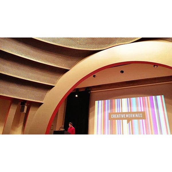 Photo taken at The New School Auditorium at 66W 12th by Steve C. on 12/5/2014