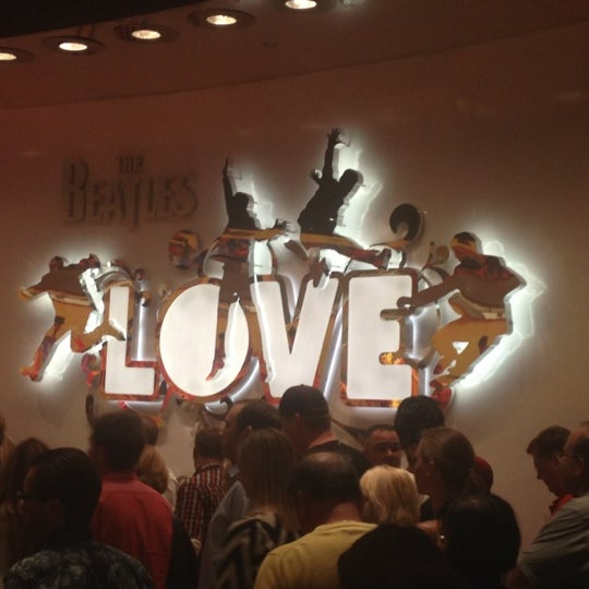 Photo taken at The Beatles LOVE (Cirque Du Soleil) by Lani V. on 10/29/2012