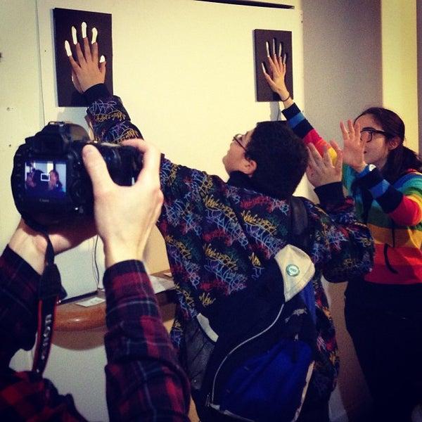 Photo taken at NYU ITP by FOKUS on 12/17/2012