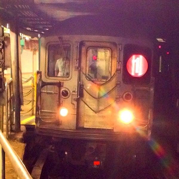 Photo taken at MTA Subway - South Ferry (1) by Jeffrey P. on 6/6/2013