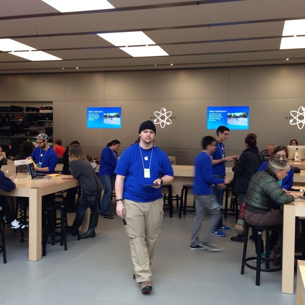 Photo taken at Apple Store, Bellevue Square by Oleg M. on 1/19/2014