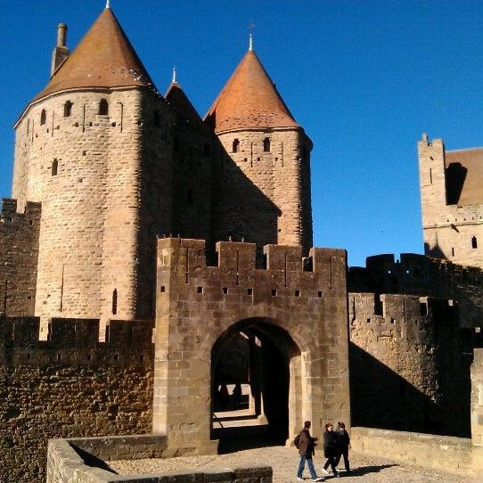 cit de carcassonne historic site in carcassonne. Black Bedroom Furniture Sets. Home Design Ideas