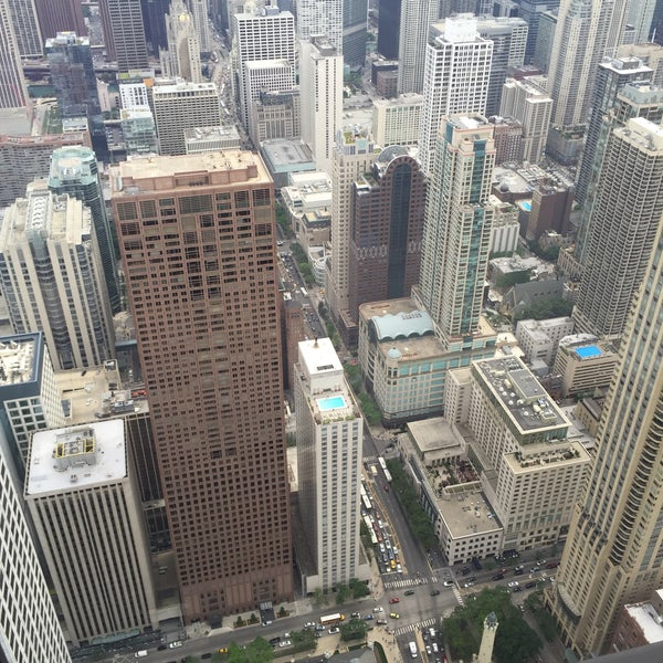 Photo taken at John Hancock Center by Charlie W. on 7/25/2015