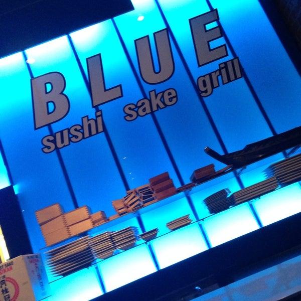 Photo taken at Blue Sushi Sake Grill by Amanda S. on 10/20/2013