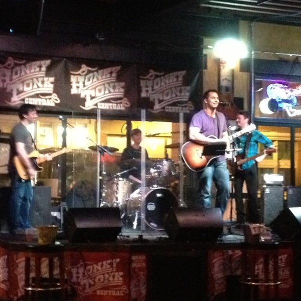 Photo taken at Honky Tonk Central by Dara on 2/28/2013