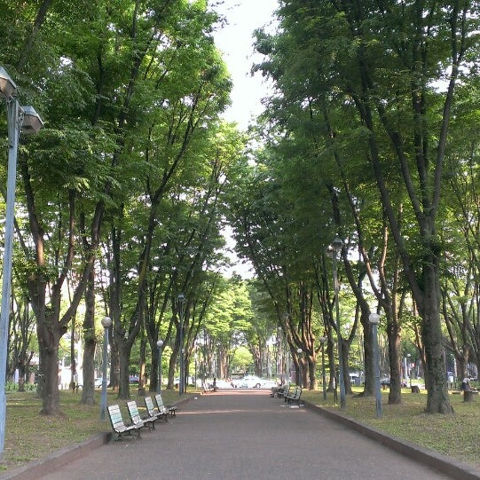 Photo taken at 久屋大通公園 リバーパーク by nonno on 5/25/2014