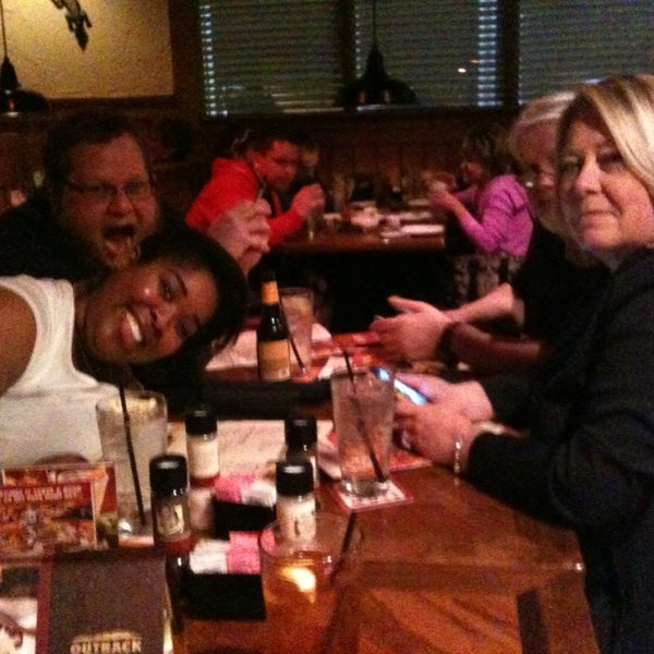 Photo taken at Outback Steakhouse by Ruthie F. on 2/22/2013