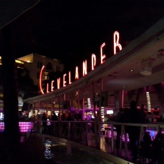 Photo taken at Clevelander by Eric J. on 1/18/2013