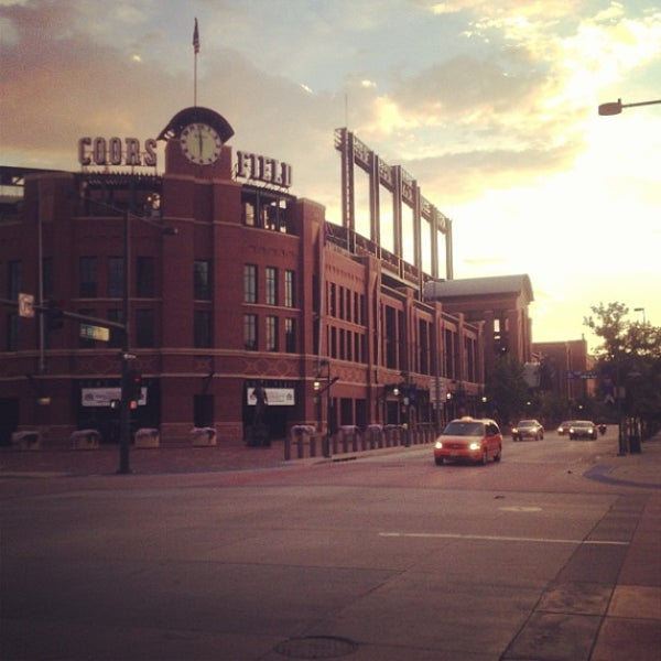 Photo taken at Coors Field by Wayne B. on 7/22/2013