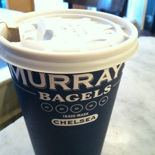 Photo taken at Murray's Bagels by Robbie B. on 1/18/2013