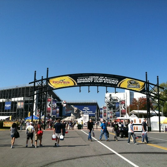Photo taken at Dover International Speedway by Dawn M. on 9/30/2012