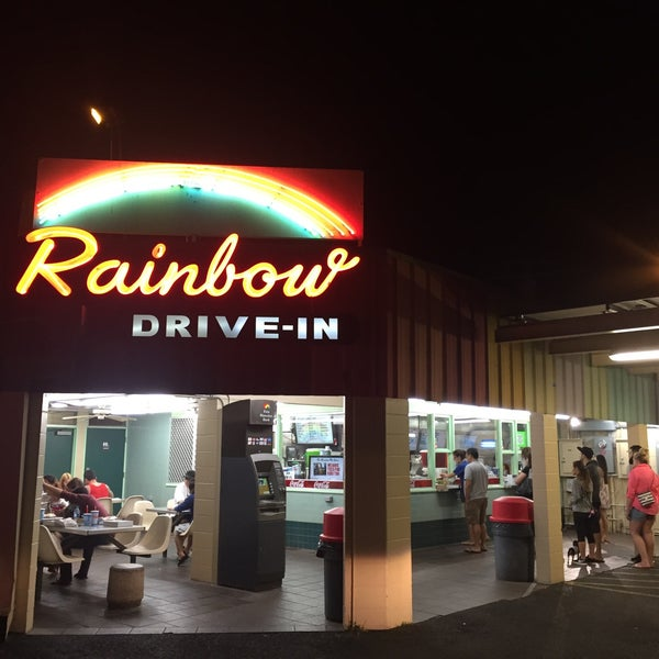 Photo taken at Rainbow Drive-in by Nadine B. on 5/18/2015
