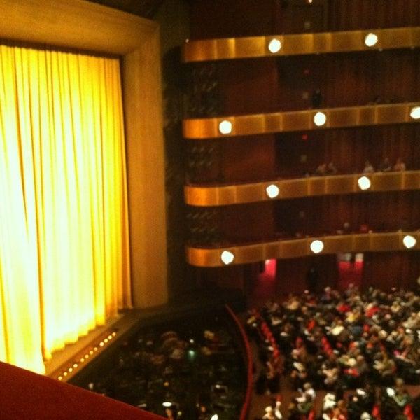 Photo taken at New York City Ballet by Jaime L. on 1/30/2013